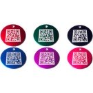 Large Furcode QR Tags in Purple